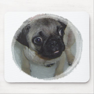 Pug Puppy Mouse Pad