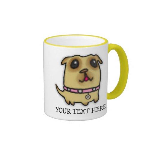 Pug Puppy Mug Mugs