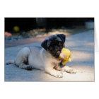 Pug Puppy Note Card