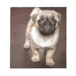 Pug Puppy Notepad