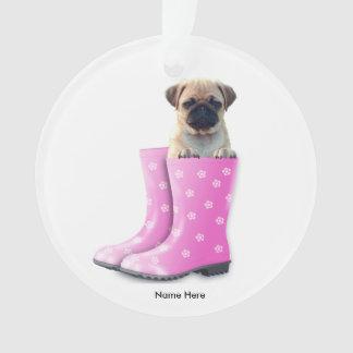 Pug Puppy Ornament