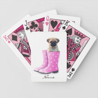 Pug Puppy Poker Deck