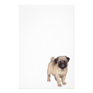 Pug Puppy Stationery