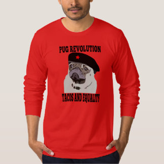 Pug Revolution, red october version. T-Shirt