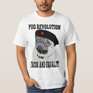 Pug Revolution T Shirts