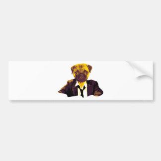 Pug RK work Bumper Sticker