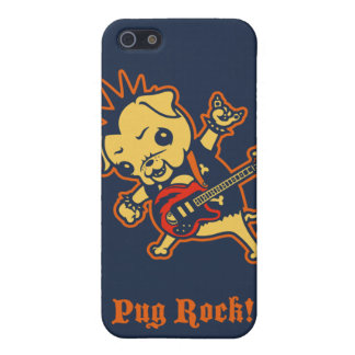 Pug Rock -color Case For iPhone 5/5S
