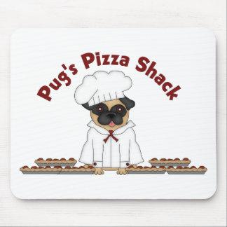 Pug s Pizza Shack 3 Mousepads