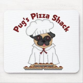Pug s Pizza Shack Mousepad