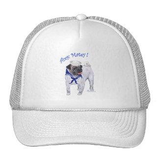Pug Sailor Cap