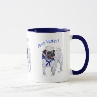 Pug Sailor Mug