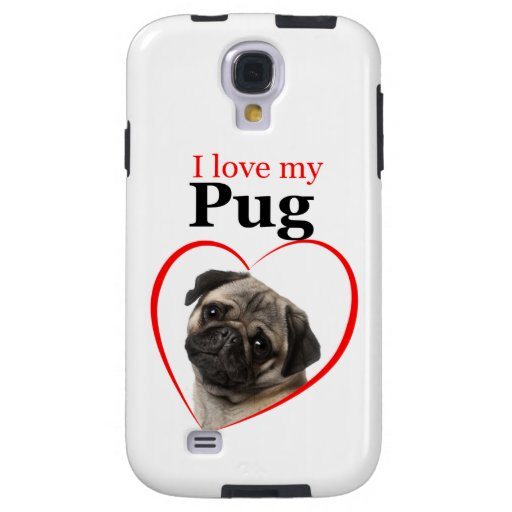 Pug Samsung Galaxy Case Galaxy S4 Case