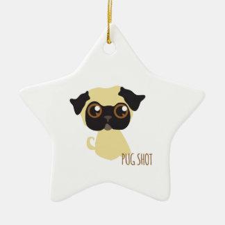 Pug Shot Ornament