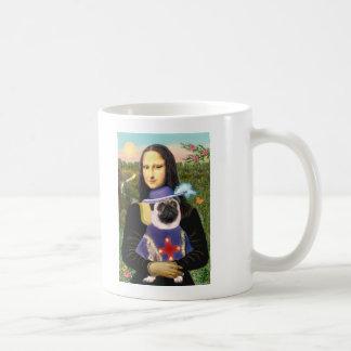 Pug (Sir) - Mona Lisa Mugs
