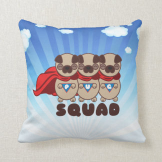 Pug Squad Pugs To The Rescue Pillow
