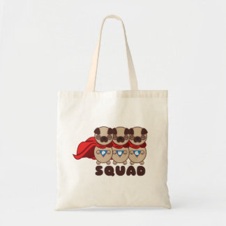Pug Squad Pugs To The Rescue Tote Bag
