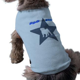 pug-star camiseta para cães