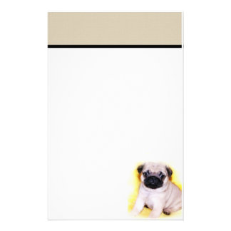 Pug stationary stationery