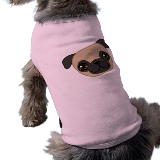 Pug T-Shirt Doggie Tshirt
