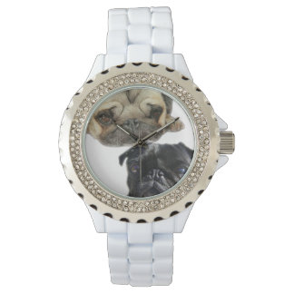 Pug Time Watch
