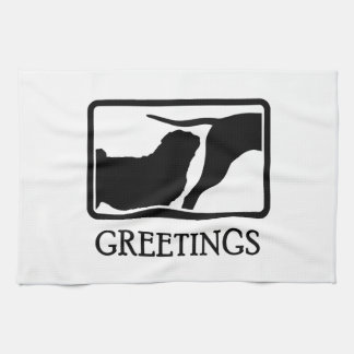 Pug Towel