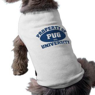 Pug University Dog T Shirt