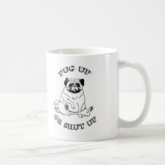 Pug Up Mug
