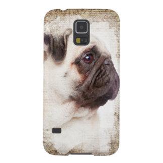 Pug Vintage Portrait Case For Galaxy S5