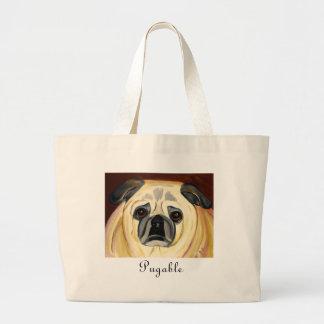 Pugable Tote Bag