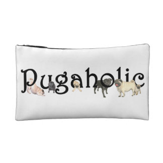 Pugaholic Cosmetic Bag