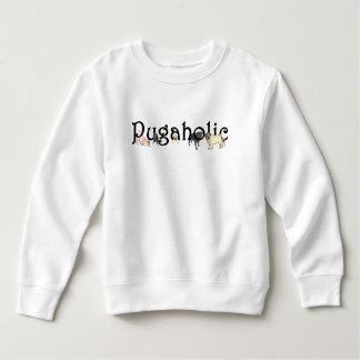 Pugaholic Toddler Sweatshirt