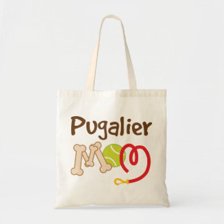 Pugalier Dog Breed Mom Gift Budget Tote Bag