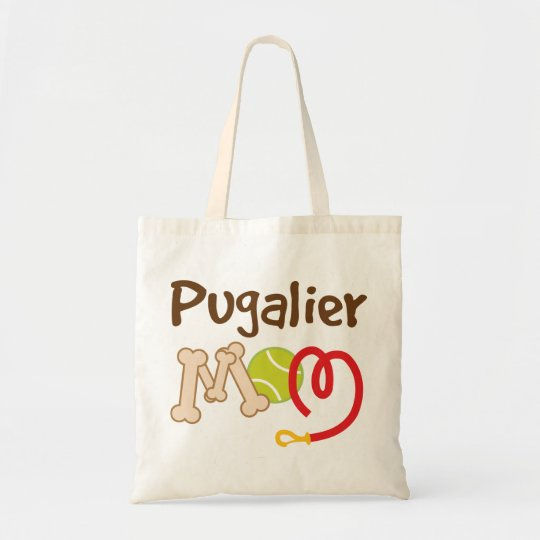 Pugalier Dog Breed Mum Gift Tote Bag