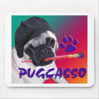 PUGCASSO MOUSE MATS
