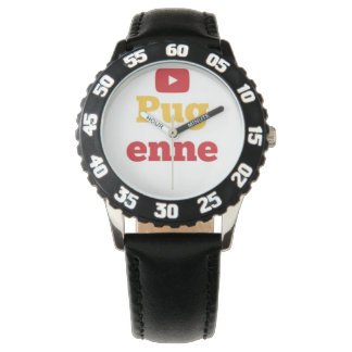 Pugenne Watch With Numbers