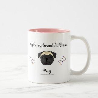 PugFawn Two-Tone Coffee Mug