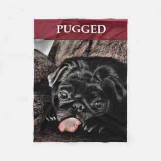 PUGGED Sm Fleece Blanket