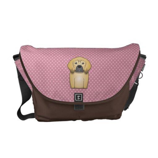 Puggle Cartoon Messenger Bag