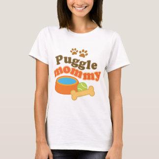 Puggle Dog Breed Mommy Gift T-Shirt