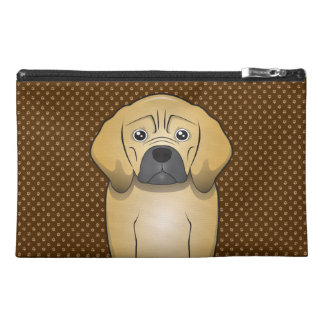 Puggle Dog Cartoon Paws Travel Accessory Bags