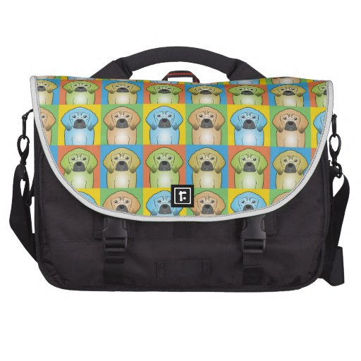 Puggle Dog Cartoon Pop-Art Commuter Bag