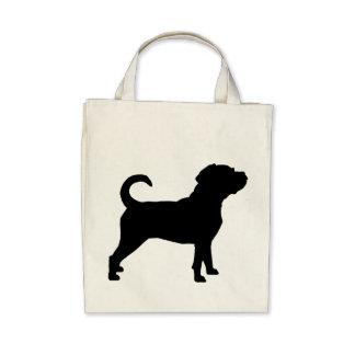 Puggle Dog Silhouette Bag