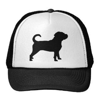 Puggle Dog Silhouette Cap