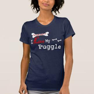 Puggle (I Love) Apparel T-Shirt