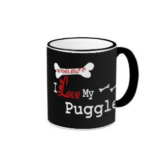 Puggle (I Love) Mug