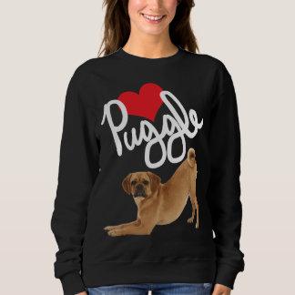 Puggle Love Sweatshirt by Mini Brothers