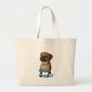 Puggle Lovers Gifts Canvas Bag