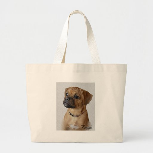 Puggle Lovers Gifts Tote Bag
