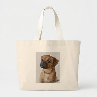 Puggle Lovers Gifts Jumbo Tote Bag