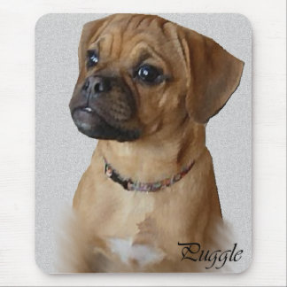 Puggle Lovers Gifts Mouse Mat